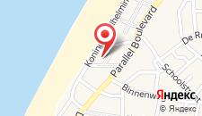 Отель Golden Tulip Noordwijk Beach на карте