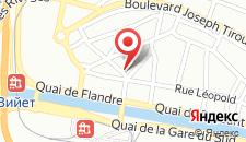 Апарт-отель Charleroi Apartotel Des Jardins De La Fontaine Qui Bout на карте