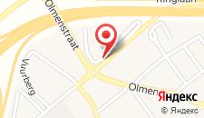 Отель Novotel Brussels Airport на карте