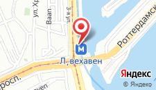 Отель Mainport Design Hotel на карте