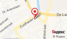 Хостел Pension Zevenbergen на карте