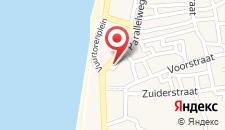 Отель Fletcher Badhotel Egmond aan Zee на карте
