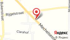 Отель Het Gasthof на карте