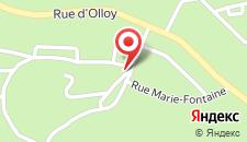Парк-Отель Village de Vacances d'Oignies на карте