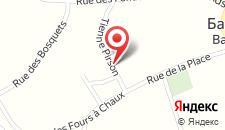 Отель Hotel L'Escapade на карте