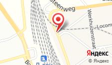 Отель ibis budget Leuven Centrum на карте