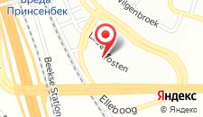 Отель Bastion Hotel Breda на карте