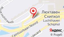 Отель citizenM Schiphol Airport на карте