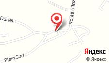 Отель Chalet Des Grottes на карте