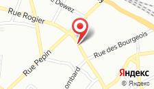 Отель ibis Namur Centre на карте