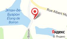 Отель Hotel Moulin de Boiron на карте