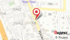 Гостевой дом Родионова на карте