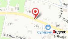 Отель Анастасия на карте