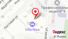 Ресторанно-гостиничный комплекс Villa Nina на карте