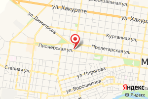 Адрес Газпром межрегионгаз Майкоп, абонентский отдел в г. Майкопе на карте