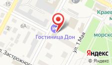 Гостиница Дон на карте