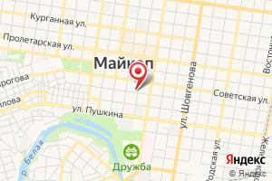 Адрес Газпром Трасгаз Краснодар, филиал на карте