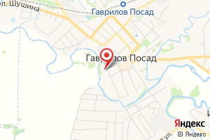 Адрес МУП Гаврилого-Посадского городского поселения Аква город на карте