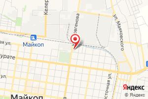 Адрес Южгазстрой на карте