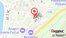 Хостел Поляна Холидей на карте