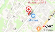Отель На Поляне на карте