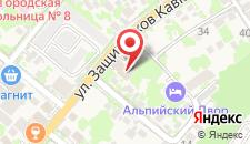 Гостиница Осипов на карте
