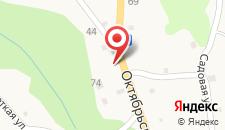 Гостевой дом Калинка на карте