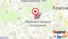 Апартаменты На Волоколамской 23 на карте