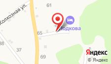 Гостевой дом Подкова на карте