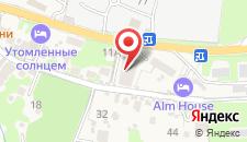 Апарт-отель Bridge Mountain Красная Поляна на карте