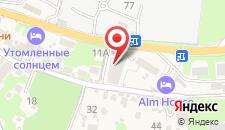 Отель Bridge Mountain Красная Поляна на карте