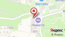Отель Оплот на карте