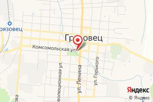 Адрес Газпром газораспределение Вологда, Грязовецкая РЭС на карте