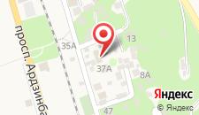 Отель Арда на карте