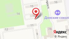 Гостиница Огонек на карте