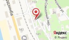 Гостевой дом Самир на карте