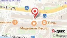 Курортный отель Sochi Marriott Krasnaya Polyana на карте