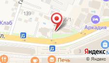 Отель Татьяна на карте