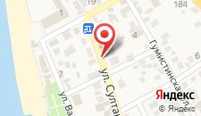 Отель Медовый на карте