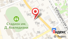 Гостевой дом RusAmra на карте