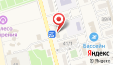 Гостиница Мега на карте