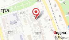 Гостевой дом на Ленина 8а на карте