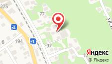 Гостевой дом На Кабардинской 107 на карте