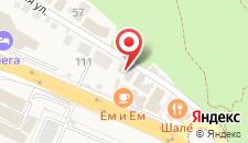 Гостевой дом Дача на Березовой на карте