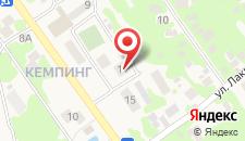 Апартаменты В Гаграх на карте