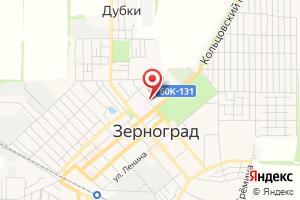 Адрес Газпром газораспределение Ростов-на-Дону, филиал в г. Зернограде на карте