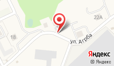 Гостевой дом Амра на Агрбе 16 на карте