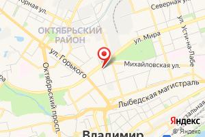 Адрес Газпром-Безопасность на карте