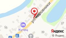Гостевой дом С банькой на карте