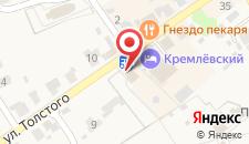 Отель Кремлевский на карте